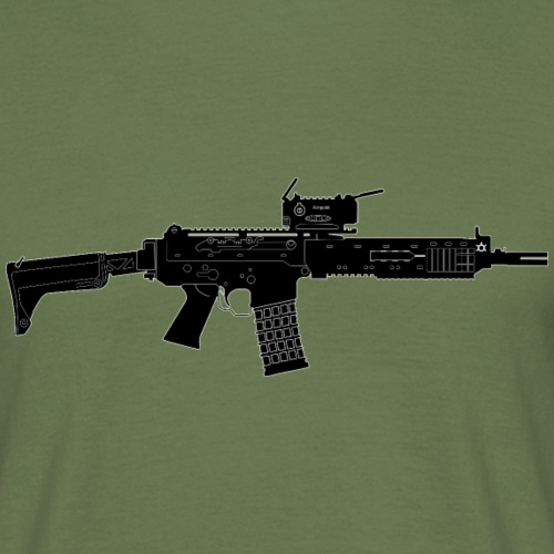 Automatkarbin 5C (Ak5C) - Swedish Assault Rifle - T-shirt herr