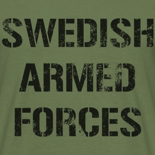 SWEDISH ARMED FORCES - Rugged - T-shirt herr