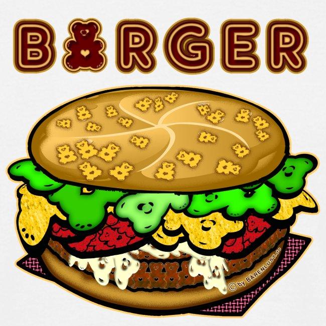 BAERENLUSTiger Burger Bear