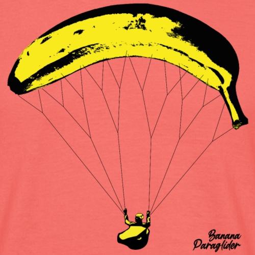 Banana Parglider 🍌 Bananen Gleitschirm - Männer T-Shirt