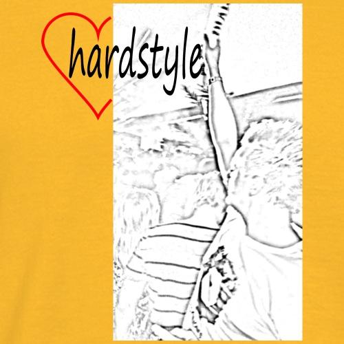 HeartHardstyle - Men's T-Shirt
