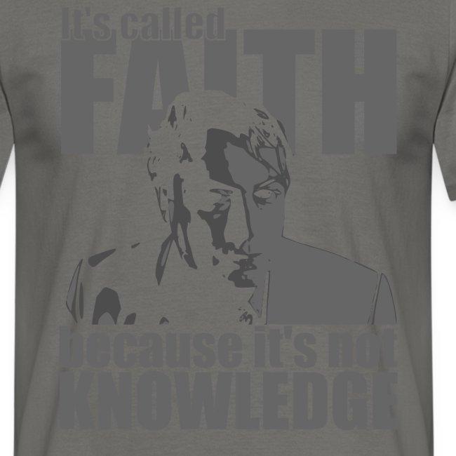 Hitchens It s called FAITH