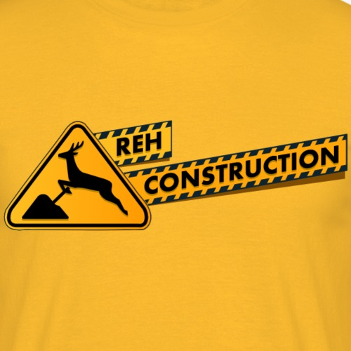 Reh Construction - Männer T-Shirt