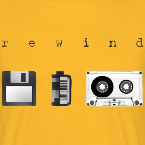 Rewind - Maglietta da uomo