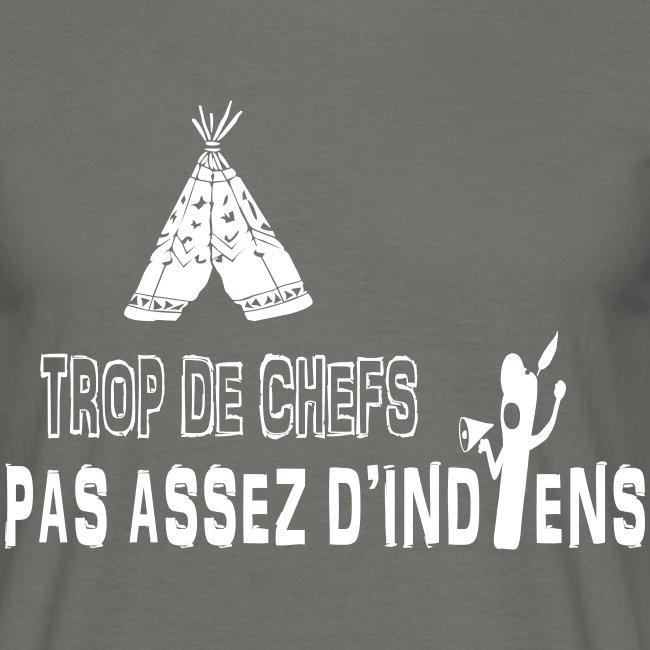 TROP DE CHEFS, PAS ASSEZ D'INDIENS