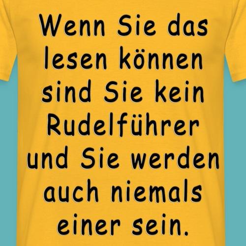 Hund-gerecht-Shirt - Männer T-Shirt