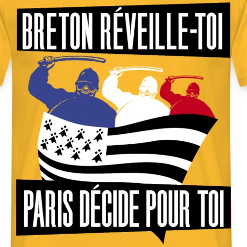 BRETON RÉVEILLE-TOI ! - T-shirt Homme