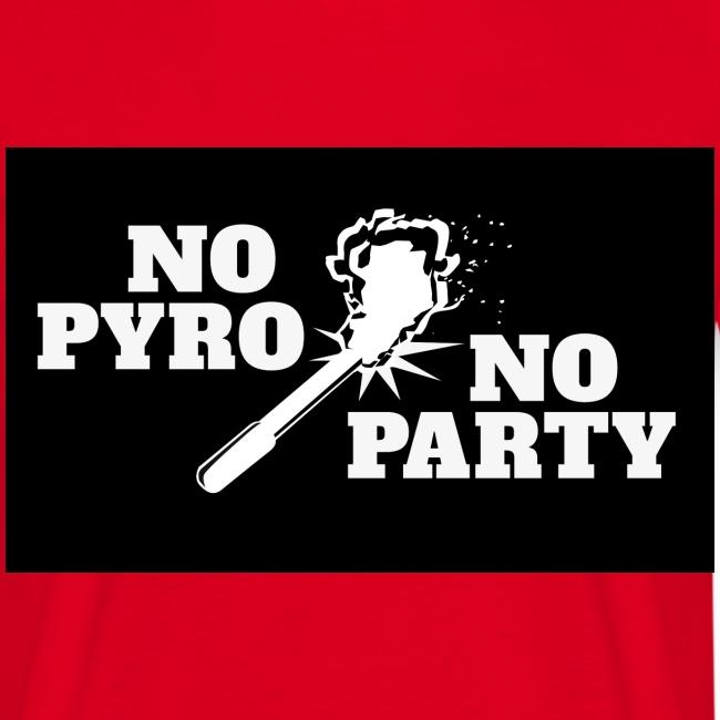 No Pyro No Party Black