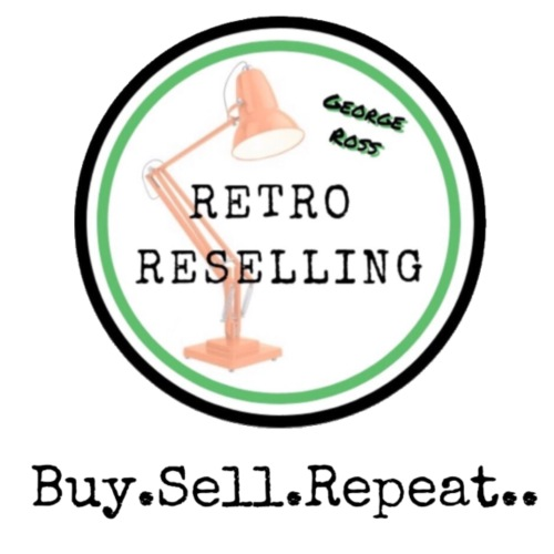 George Ross - Retro Reselling Logo - Men's T-Shirt