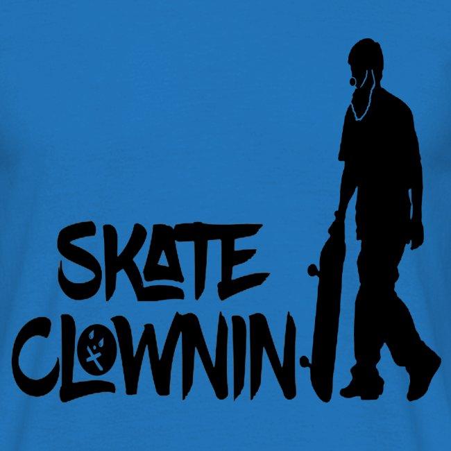 Skateclowninallblackno bg gif