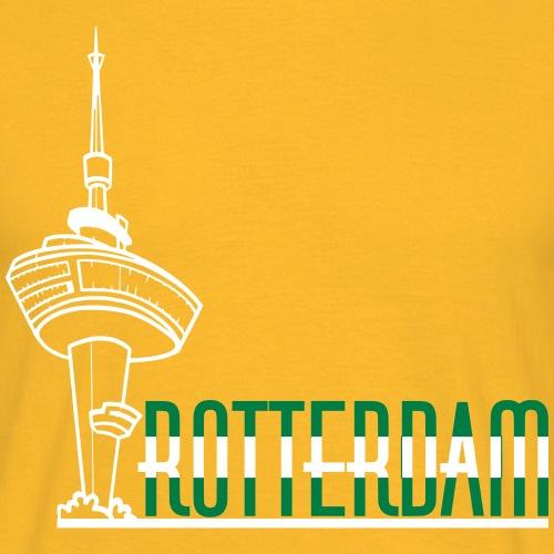 rotterdam euromast kleur - Mannen T-shirt