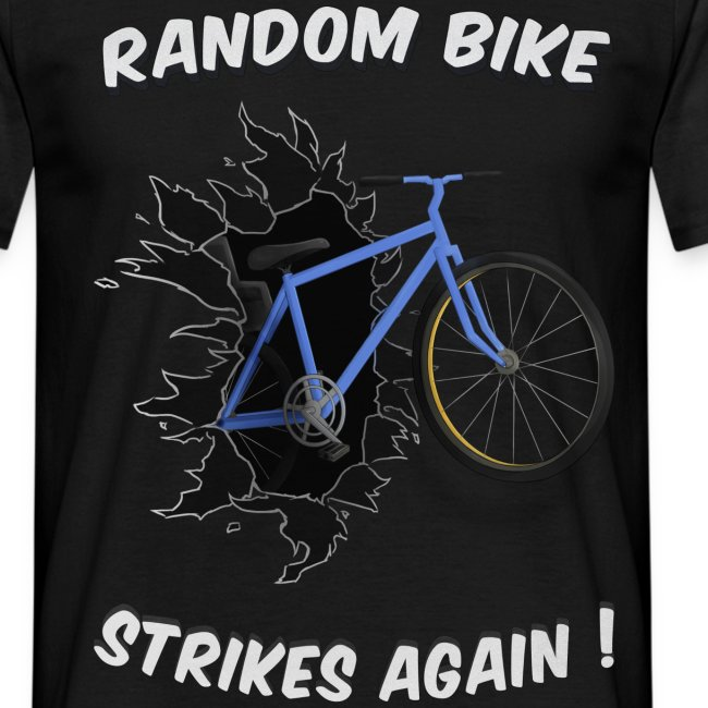 random bike t shirtwhite only