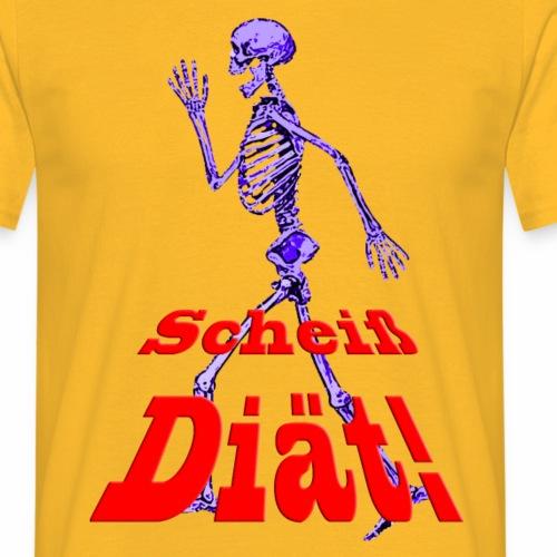 Scheiss Diät - Männer T-Shirt