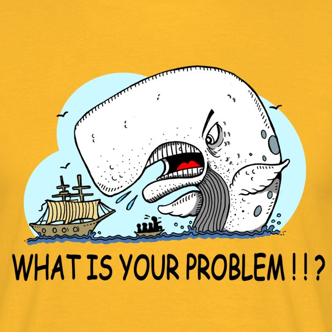 moby dick gets upset