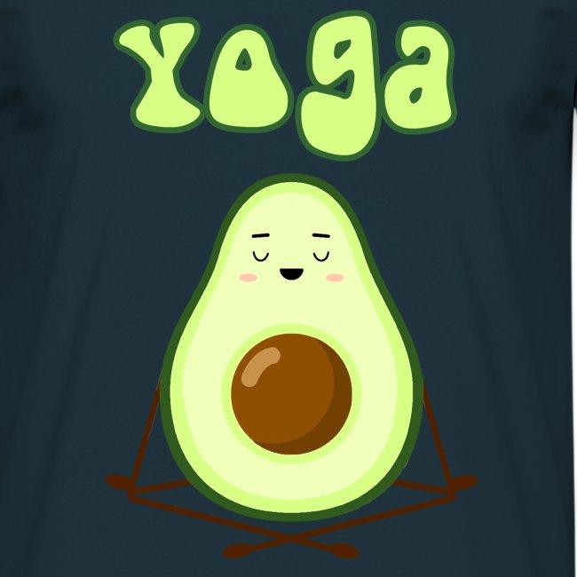 yoga avocado namaste pace amore hippie relax
