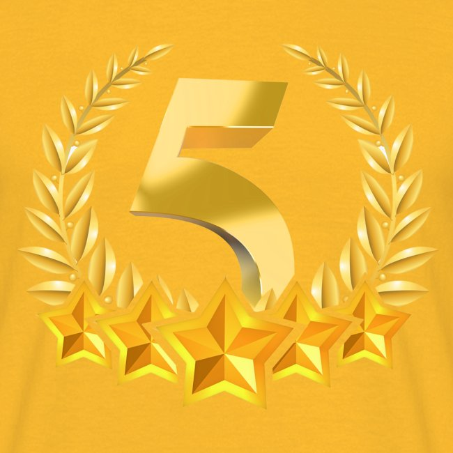 Fünf-Stern 5 sterne