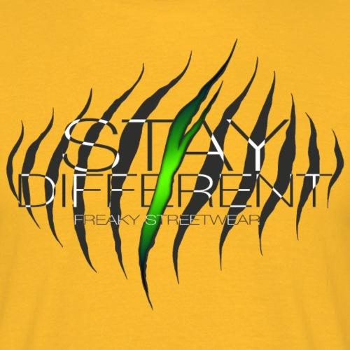 stay different - Männer T-Shirt