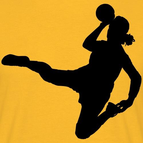 Handball Playerin - Männer T-Shirt