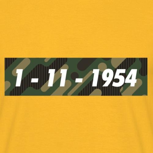 1er novembre 1954 algerie png - T-shirt Homme