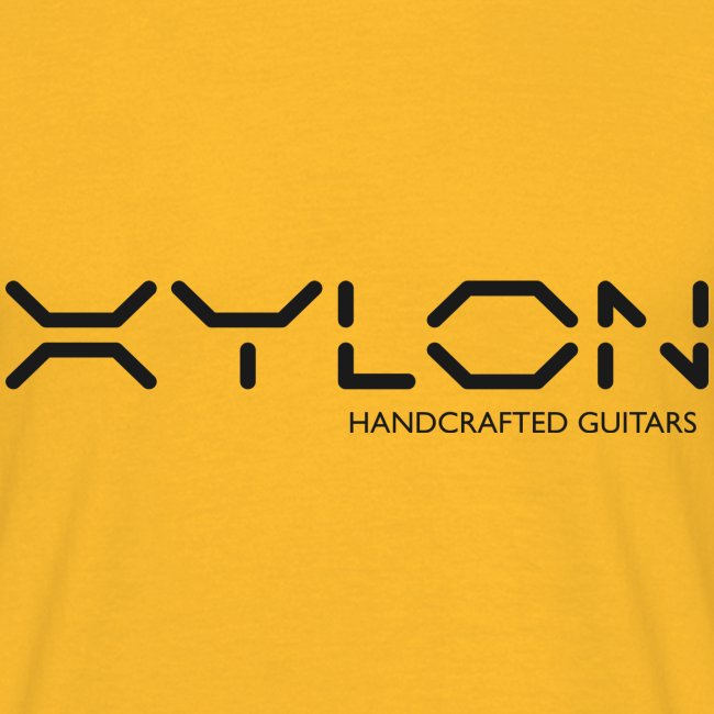 Xylon Handcrafted Guitars (plain logo in black)