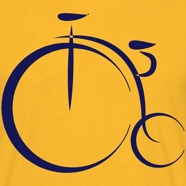 Cool geek old bicycle design