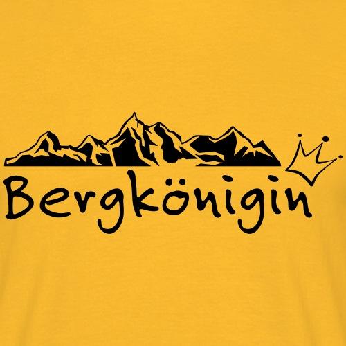 Bergkönigin - Männer T-Shirt