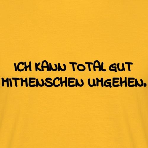 MitMenschen - Männer T-Shirt