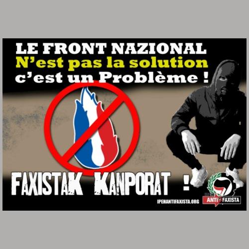 FN pas la solution - T-shirt Homme