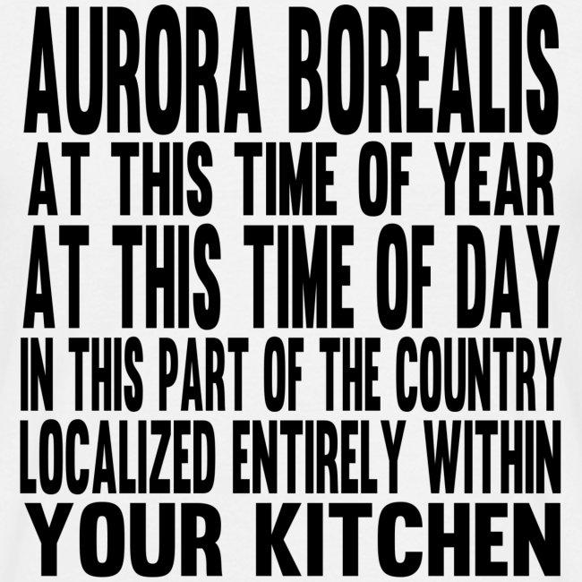 Aurora Borealis Black