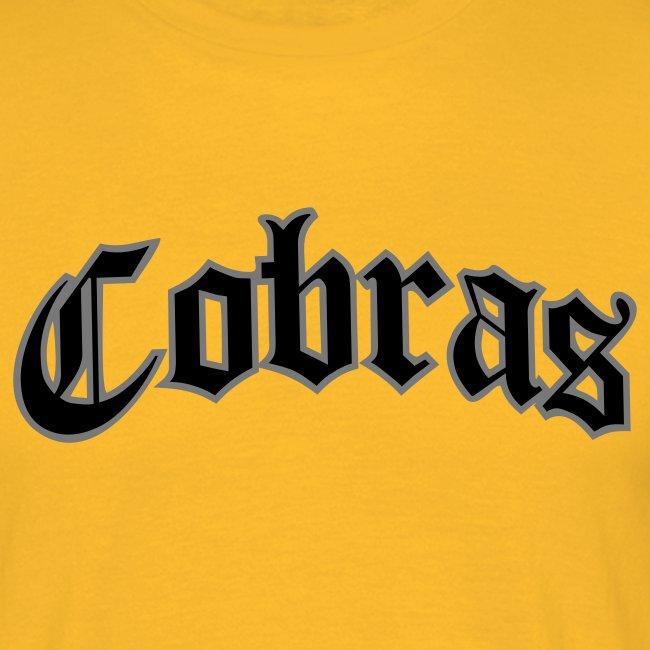 Cobras Schriftzug