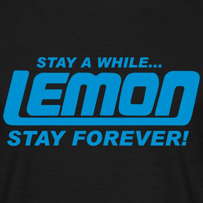 lemon logo stay a while