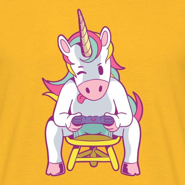 gamer unicorn