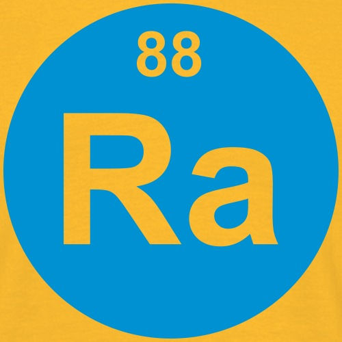 Radium (Ra) (element 88) - Men's T-Shirt