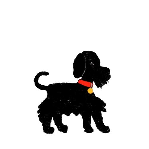 Schnauzer dog - Men's T-Shirt