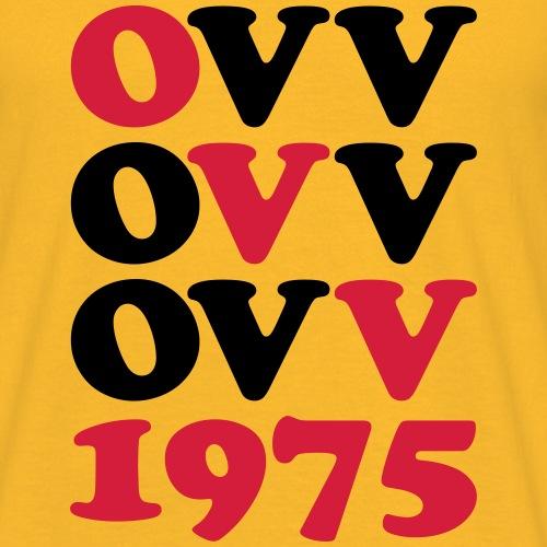 OVV Quadrat 2farbig - Männer T-Shirt