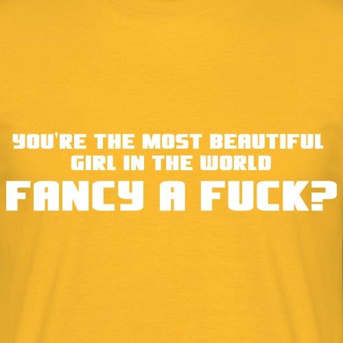 naken mostbeautiful - T-shirt herr