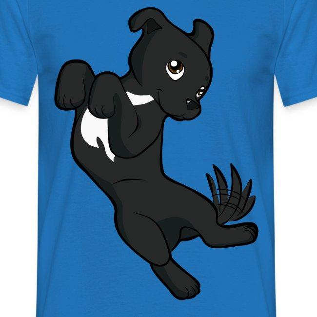 Staffordshire bull terrier nero