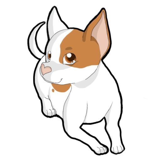 Chihuahua a pelo corto paint - Maglietta da uomo