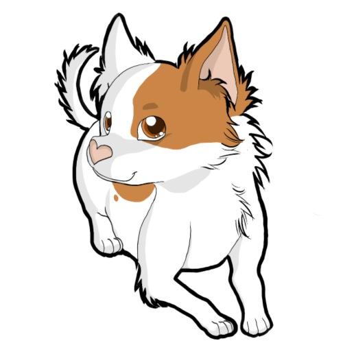 Chihuahua a pelo lungo paint - Maglietta da uomo