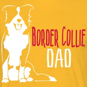 Border Collie Dad - Mannen T-shirt