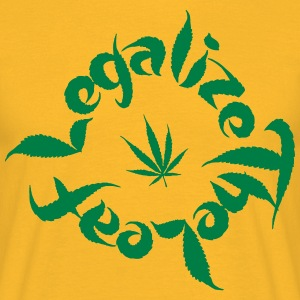 legalize - Men's T-Shirt