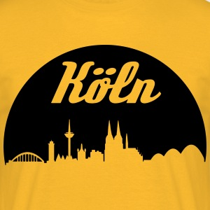 Cologne skyline - Men's T-Shirt