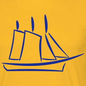 ship design - Men's T-Shirt