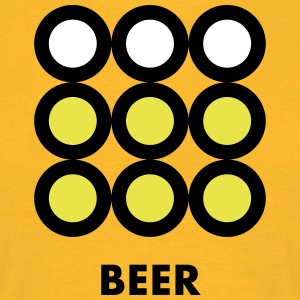Beer. See also the Wine version. - Men's T-Shirt