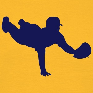 Baseball player silhouette 5 - Men's T-Shirt