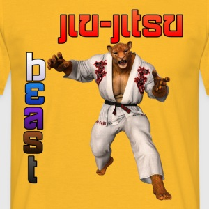 Jiu-Jitsu Beast Jaguar - Men's T-Shirt