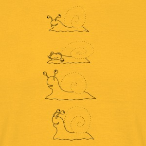 Four snails - Men's T-Shirt