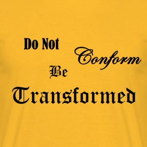 Do_Not_be_Conformed_copy - T-skjorte for menn
