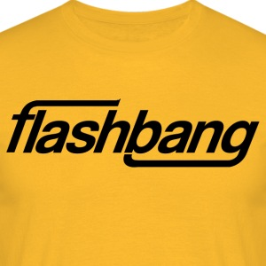 Flash Bang Single - Zonder Donatie - Mannen T-shirt