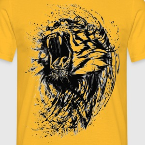 Roaring tiger - Men's T-Shirt